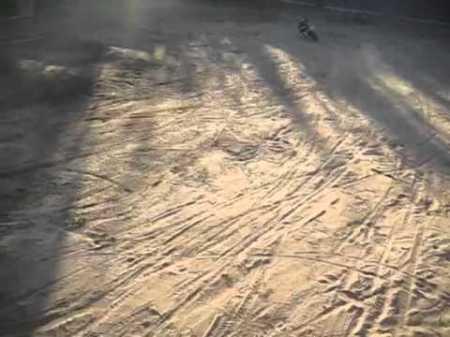 Ryan Villopoto Replica VMX450 video on backyard track