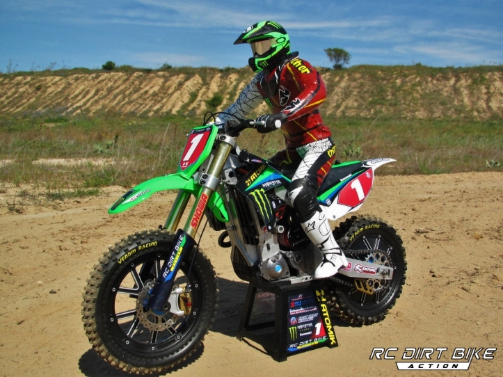 2013 Ryan Villopoto replica MM450 1/4 scale