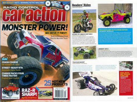 My Atomik MM450 in RC Car Action July 2013d