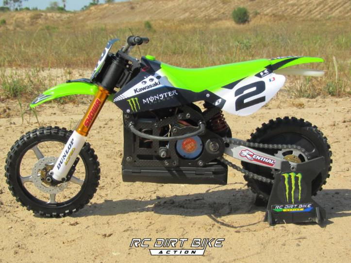 2011 Ryan Villopoto replica DX450 1/5 scale