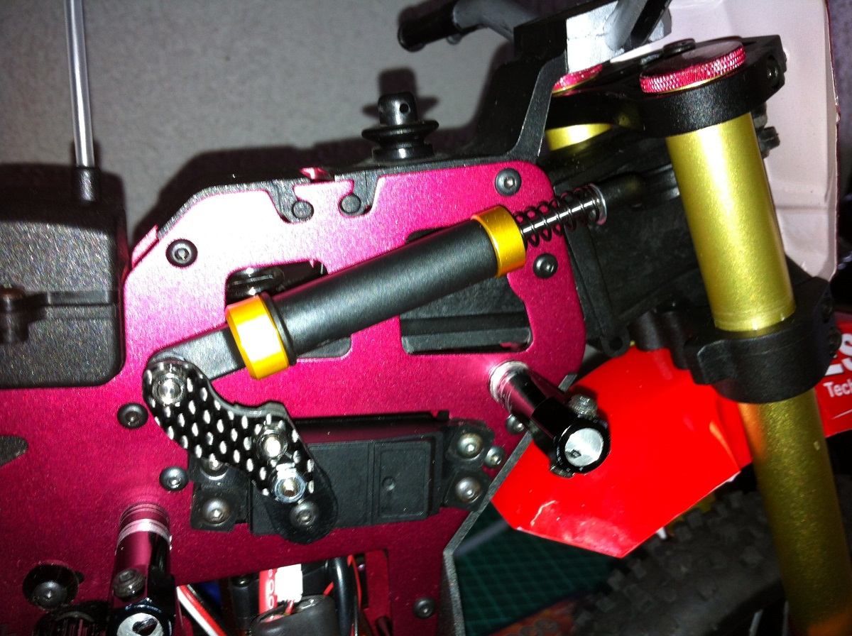 Steering Damper Ideas For Sr4 And Phantom400 Bikes