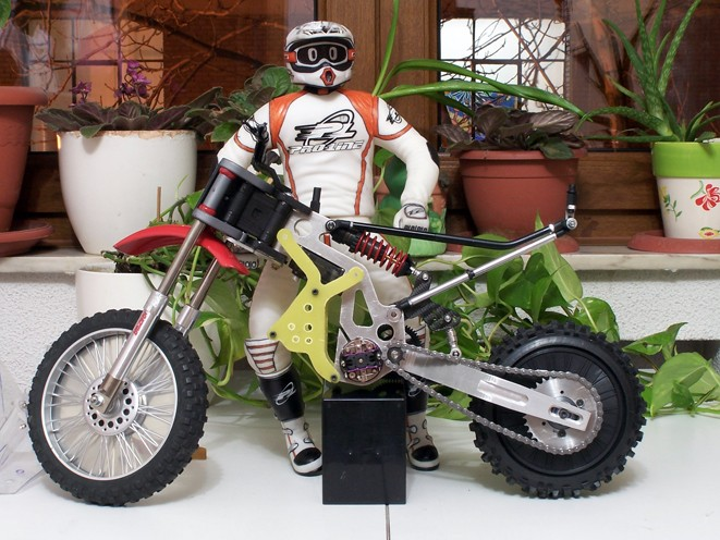 Csc Mx1 Custom Rc Dirt Bike From Spain