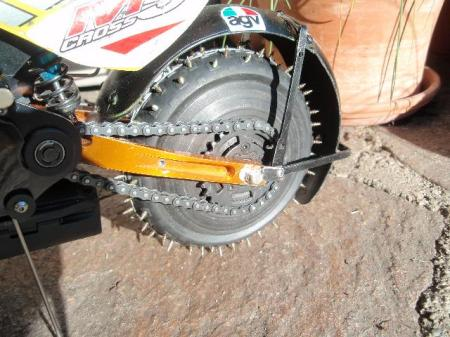 Manfred m5 ice racer tire