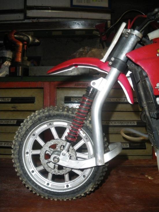 VMX Sidecar front forks 2