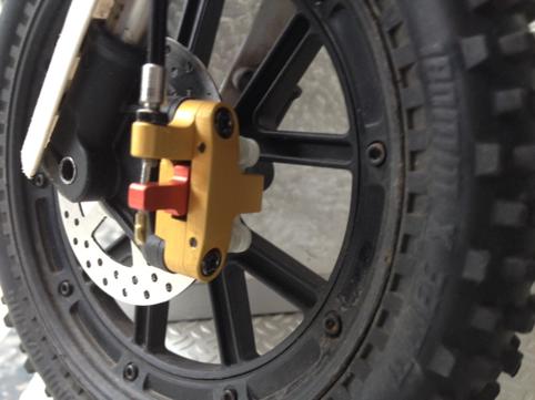Bernd Strombike vmx brake 3